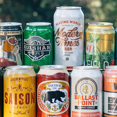 west coast craft beers for camping