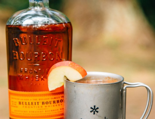 A perfect cocktail for your next camping trip: Bourbon Spiked Apple Cider