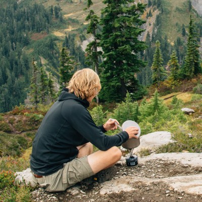 low impact cooking in the backcountry