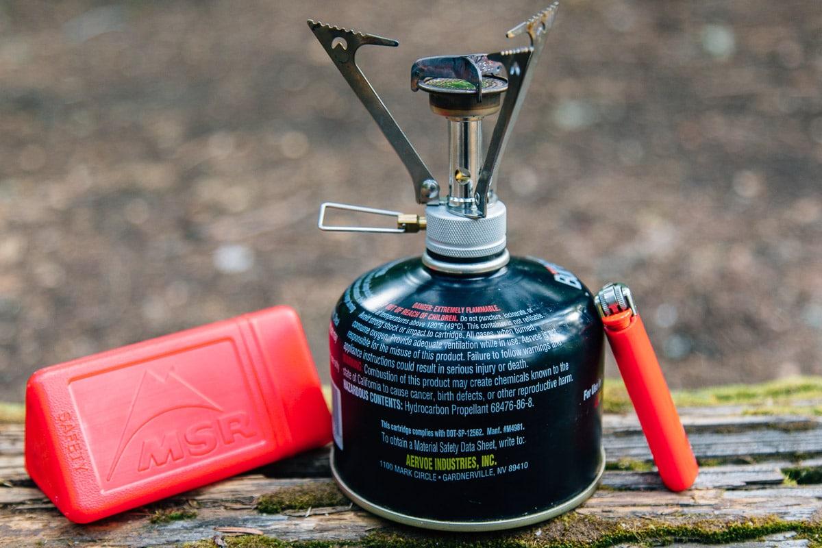 MSR Pocketrocket backpacking stove