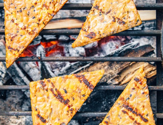 Sweet & Savory Grilled Tempeh
