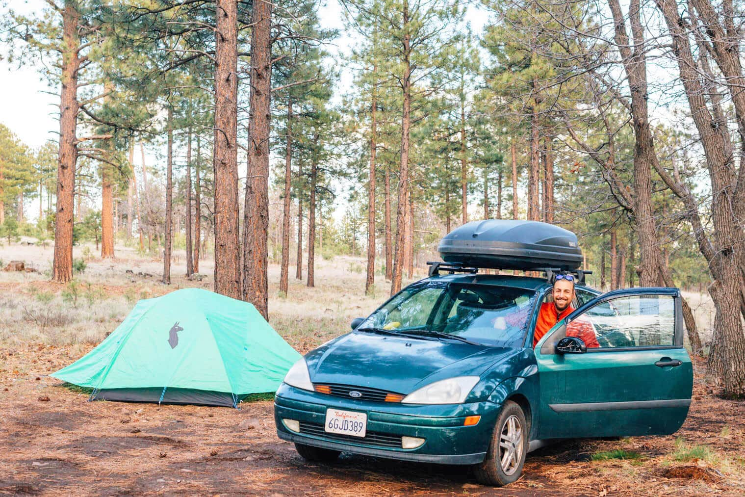 Find free camping near Flagstaff, Arizona in the Coconino National Forest
