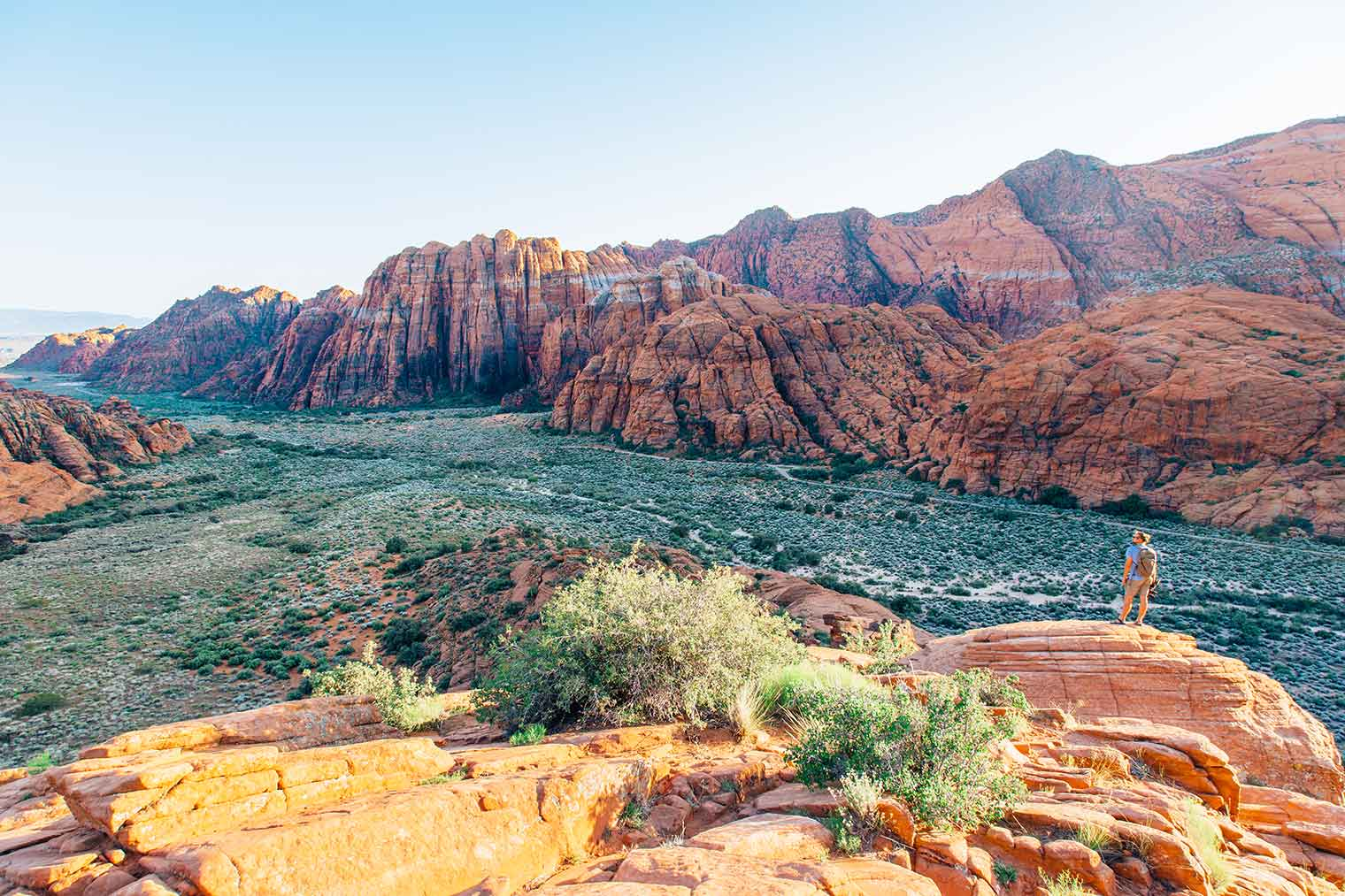 Snow Canyon is one of the primer outdoor destinations near St. George, Utah - between hiking, biking, climbing, and camping, there's something for everyone at this state park!