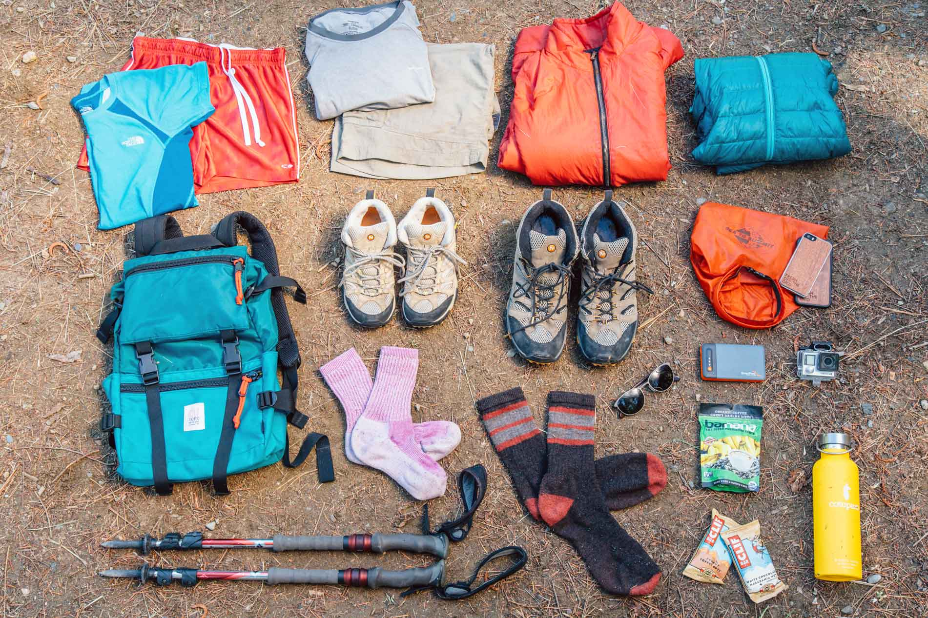 What Shoes To Wear Hiking