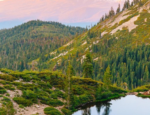 VS Backpacking to Heart Lake in Shasta-Trinity Wilderness-3