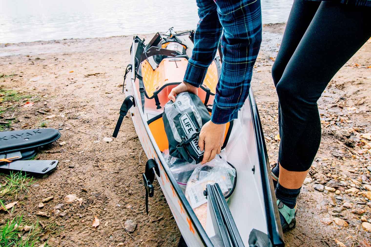 Kayak camping in the Adirondacks with Oru Kayak