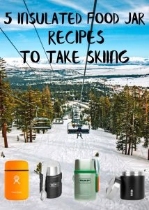 These quick and easy recipes are perfect for your next ski trip - just make ahead in the morning, pack in a thermos, and hit the slopes!