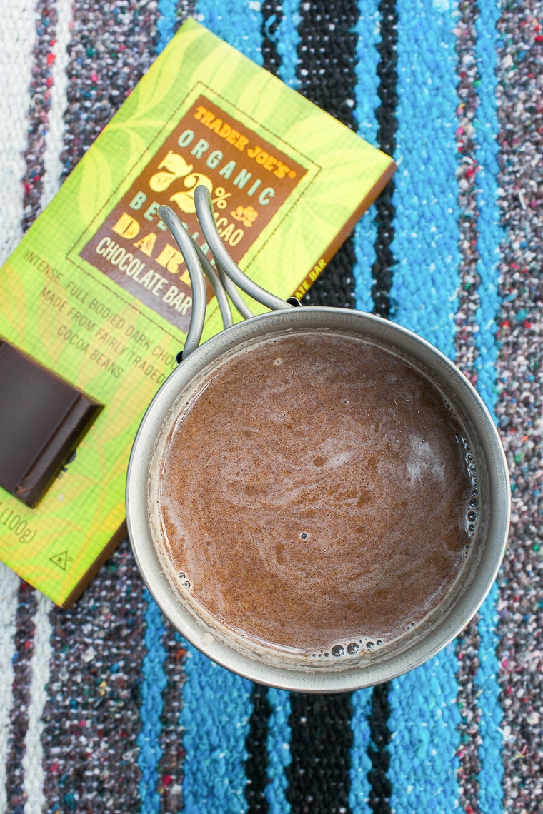 El Submarino: an Argentine take on hot chocolate