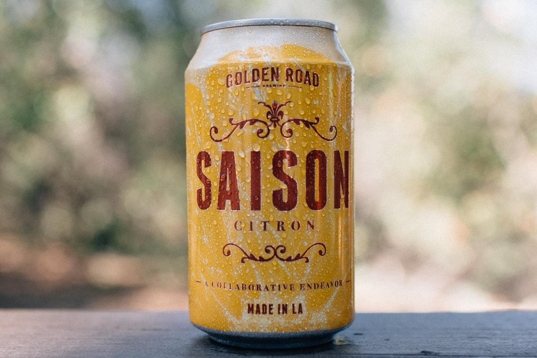 Saison Citron by Golden Road