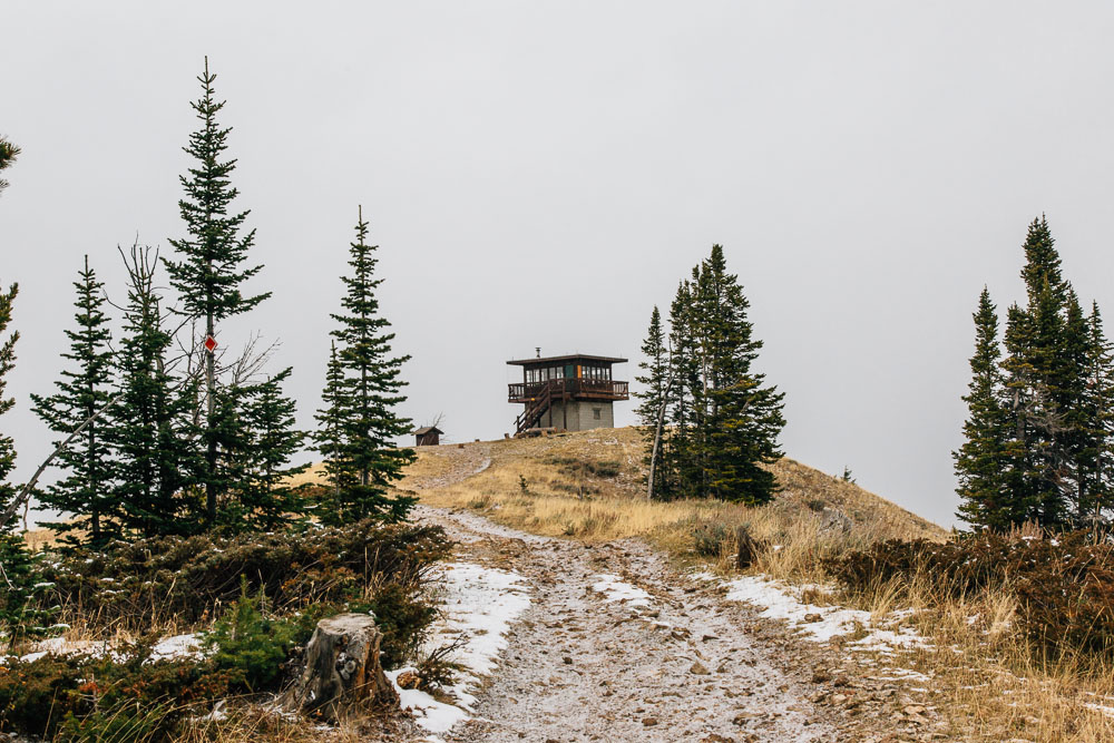 Garnet Mountain Fire Lookout Tower