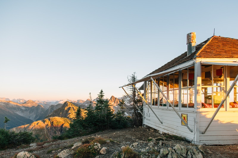 Winchester Mountain Fire Lookout