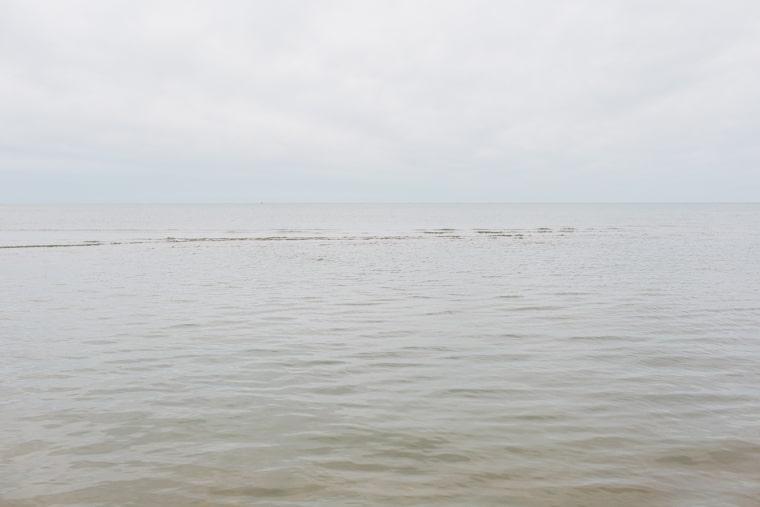Fog over the ocean