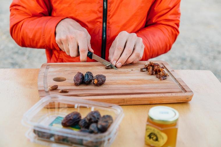 Date and Honey Breakfast Polenta