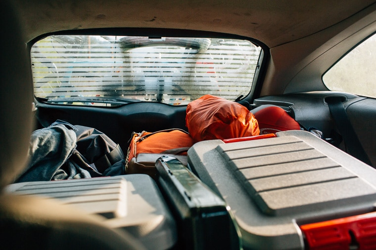 Road Trip Tip:- Pack Less-