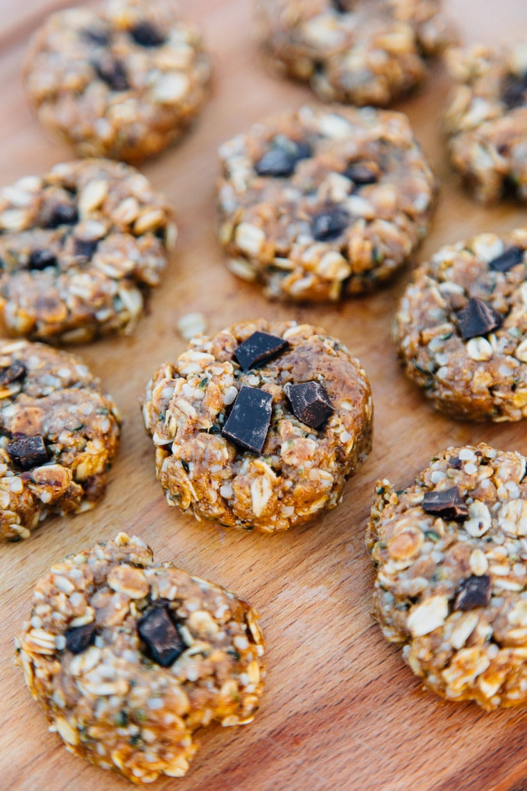 no bake coconut almond trail cookies fresh off the grid