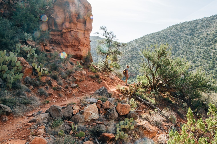 The Ultimate Guide to Sedona's Swimming Holes | Hiking Bell Trail to The Crack