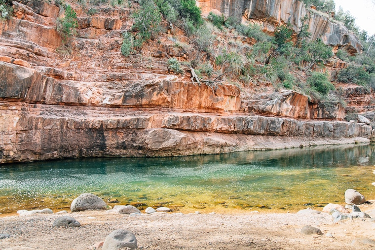 The swimming hole at grasshopper point