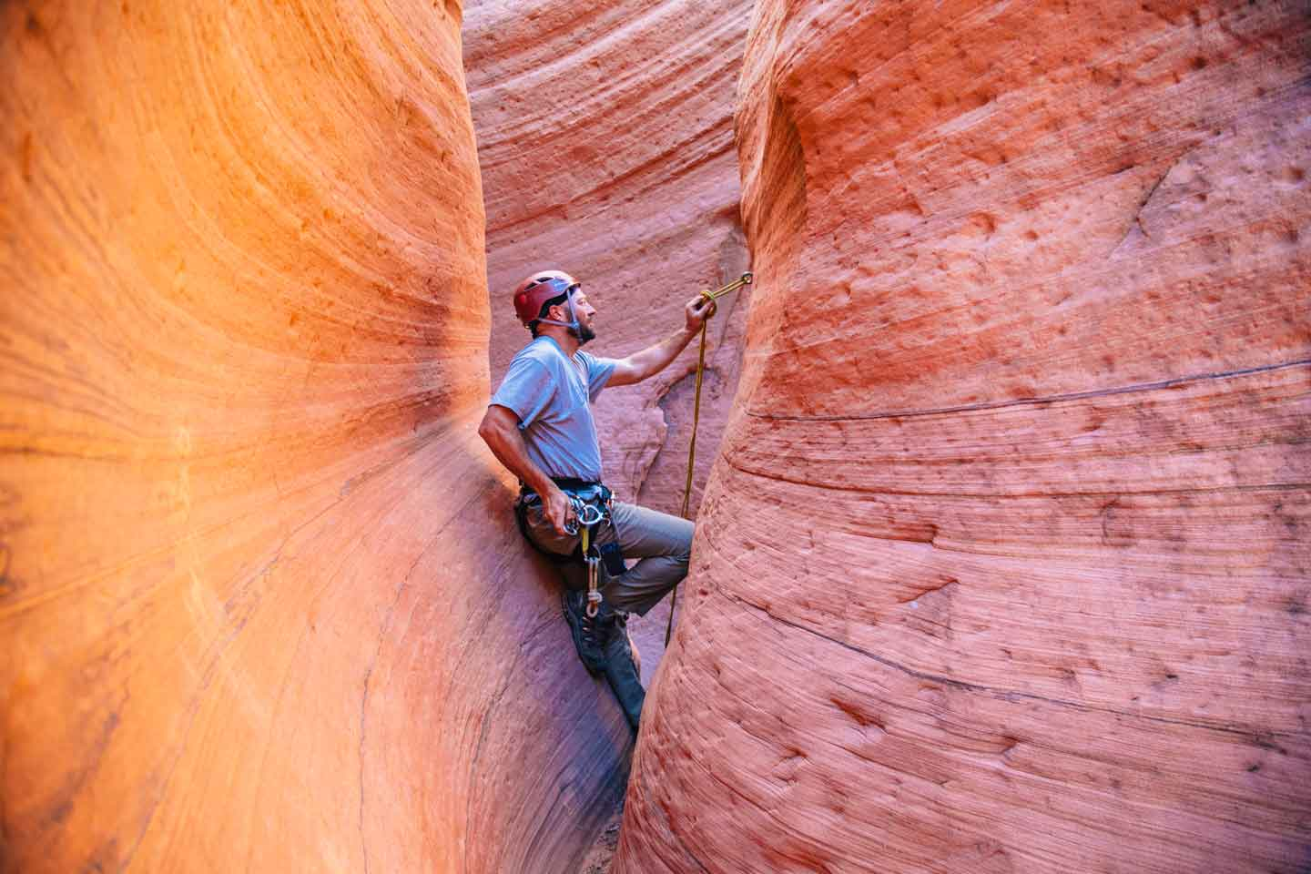 Canyoneering Zion Adventure Company The Huntress Slot Canyon 5