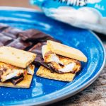 Super simple vegan s'mores