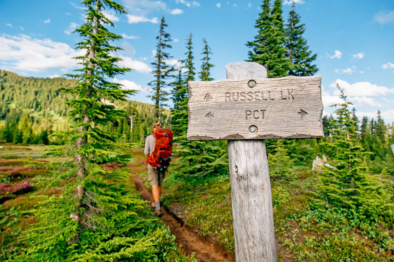 A bucket list worthy overnight hike: Russell Lake in Jefferson Wilderness, Oregon