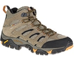 Mens Merrell Moab Hiking Boots