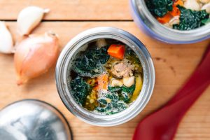 Quick and Easy Sausage and Bean Soup