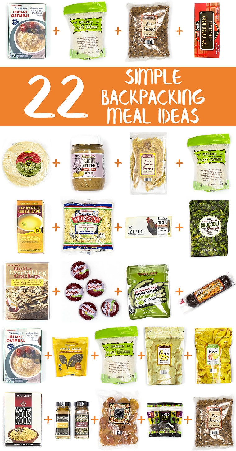 22 Simple Backpacking Meal Ideas From Trader Joe S Fresh