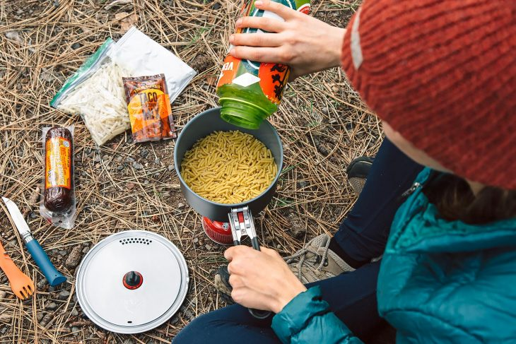 20+ Simple Backpacking Meal Ideas using items from Trader Joe's