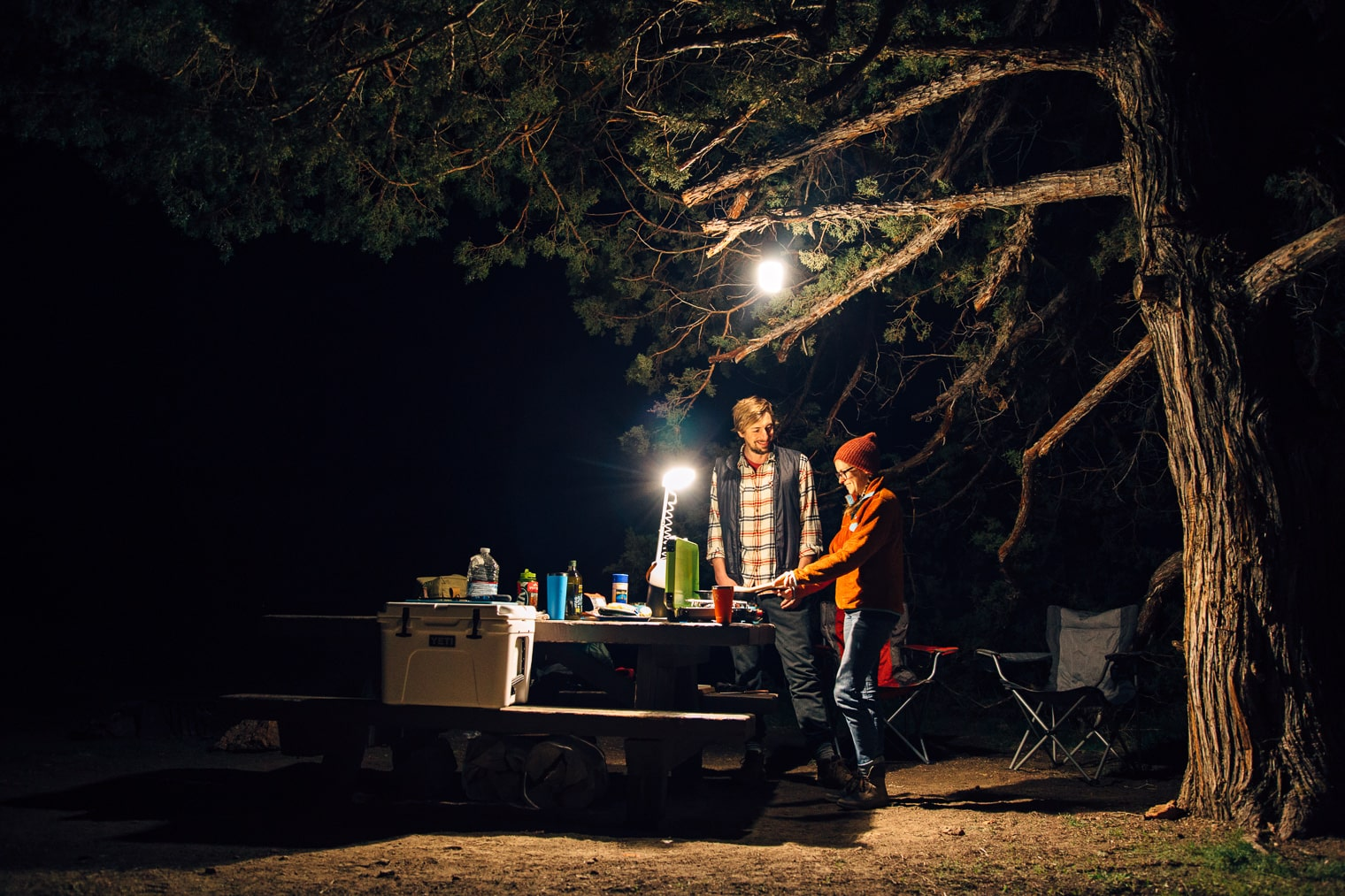 Light up your campsite with a UCO Lantern.