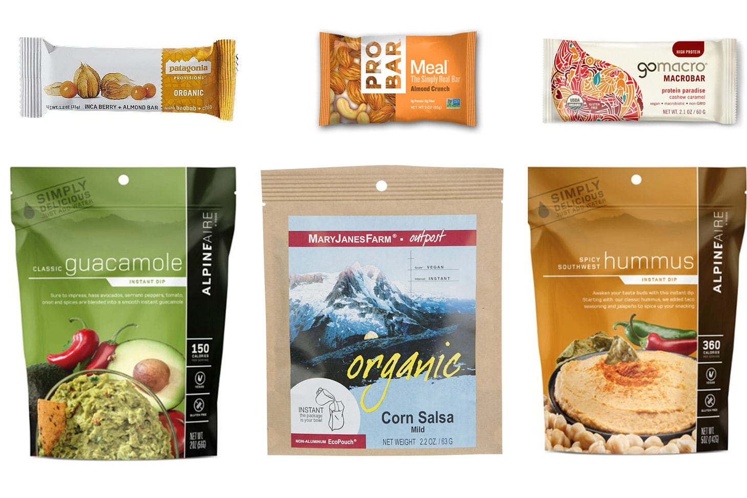 Vegan Backpacking Lunch Ideas
