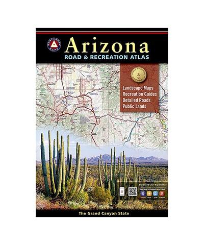 Arizona Map Book cover