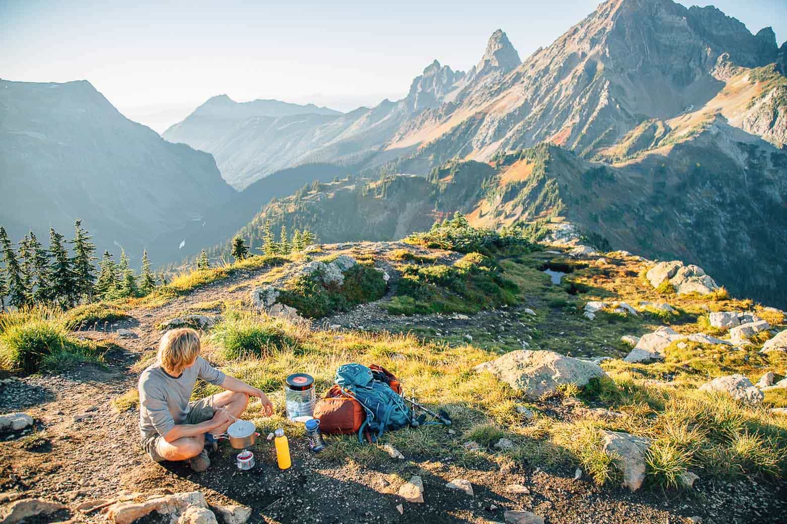 The Best Backpacking Food Ideas - Backpacking Breakfasts, Backpacking Lunch, Backpacking Dinners - we show you our favorite picks from our time on the trail!