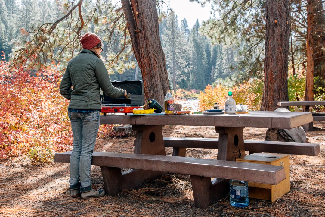 This guide covers how to choose the best car camping stove. We talk about considerations like fuel type, BTU's, and simmer control.