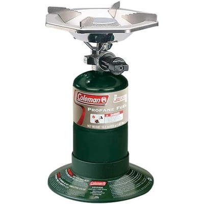 Coleman bottle top stove