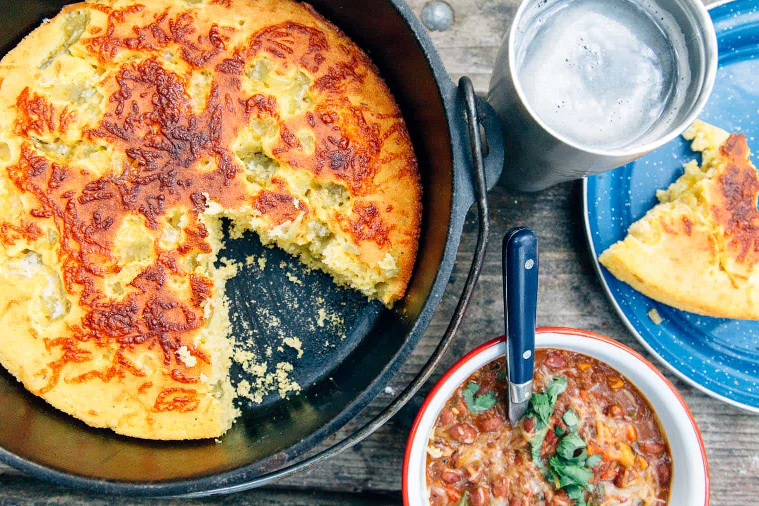 Dutch Oven Cornbread Camping Recipe By Fresh Off The Grid