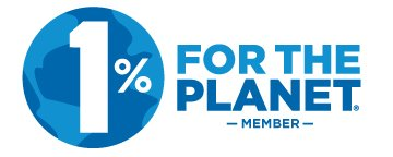 1% for the planet member graphic