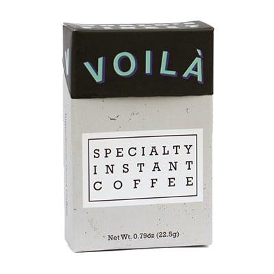 Voila coffee packaging