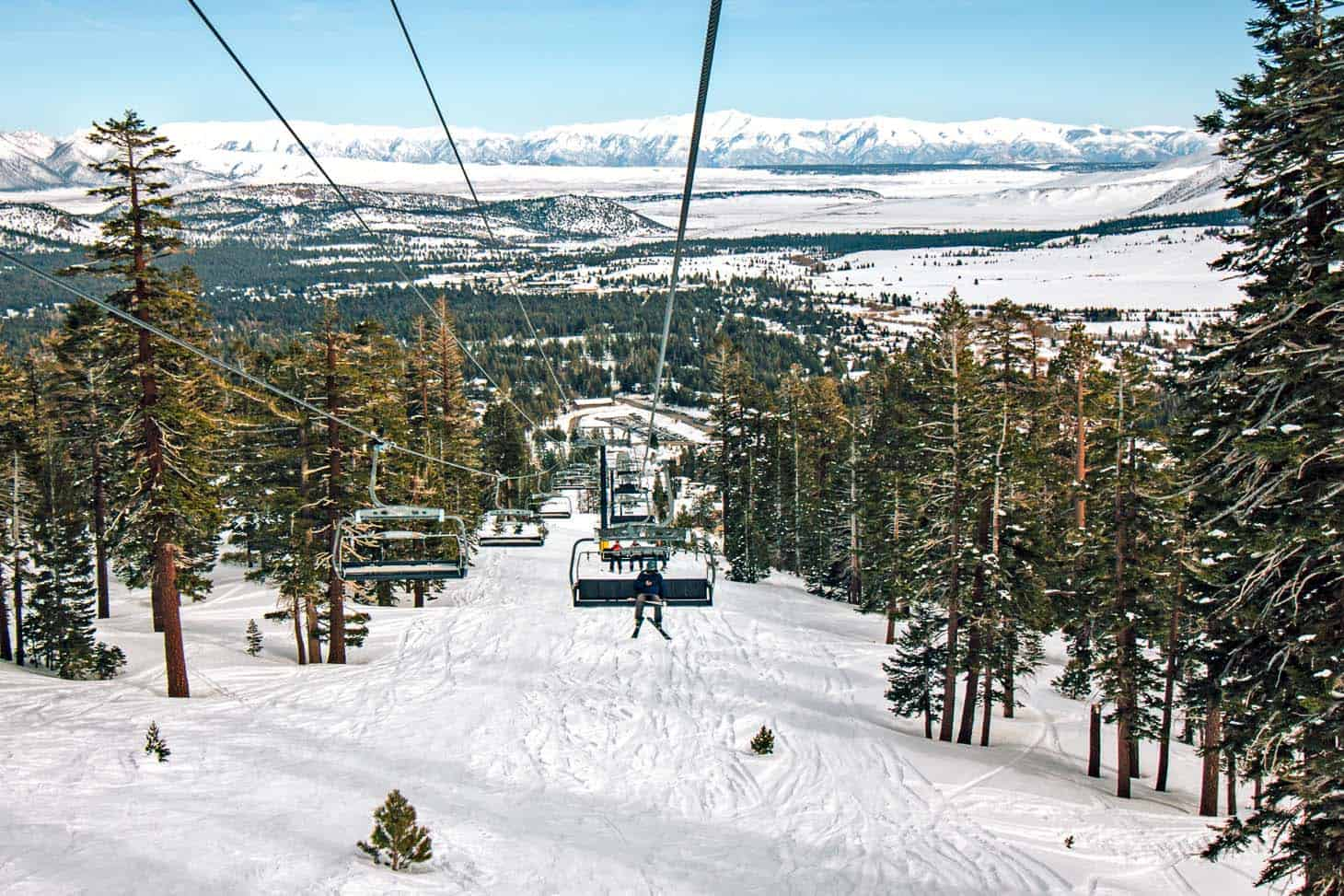 Mammoth Mountain Ski Chair Lift