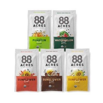 88 Acres seed butter packets