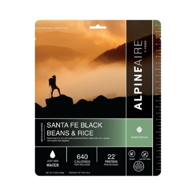 Alpineaire santa fe black beans and rice