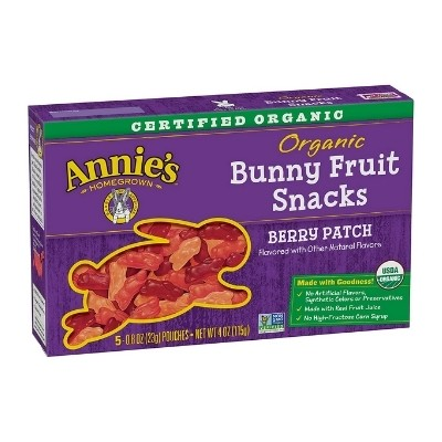 Annies bunny fruit snacks