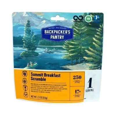 Backpackers Pantry Summit Breakfast Scramble
