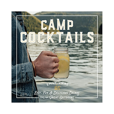 Camp cocktails book cover