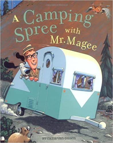 Cover of Camping Spree with Mr. Magee