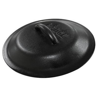 cast iron skillet lid