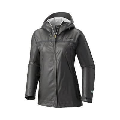 Grey rain jacket product image