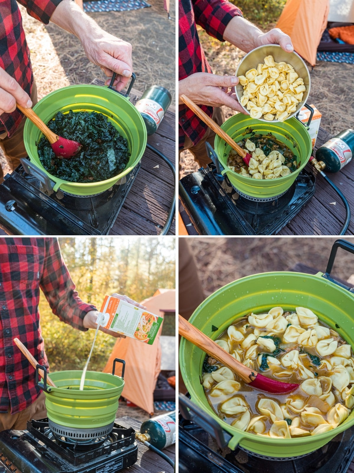 How to make tortellini soup step by step photos