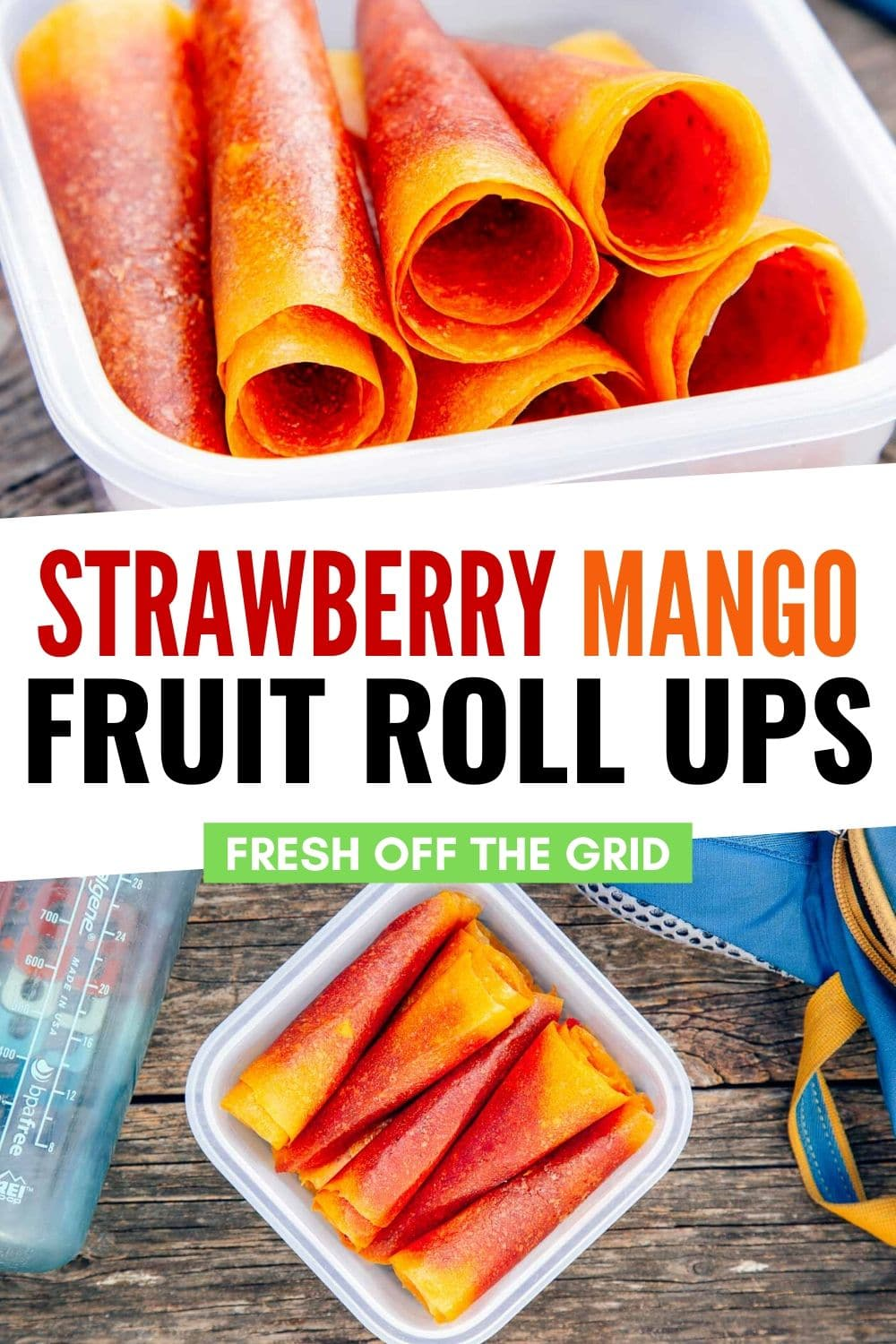 A tropical kaleidoscope of flavor and color, these tie-dyed fruit leathers are our healthy-ish riff on the classic 90's snack food. They're a perfect grab-and-go snack for hiking. via @freshoffthegrid
