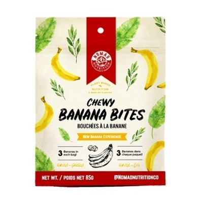 Nomad Chewy Banana Bites