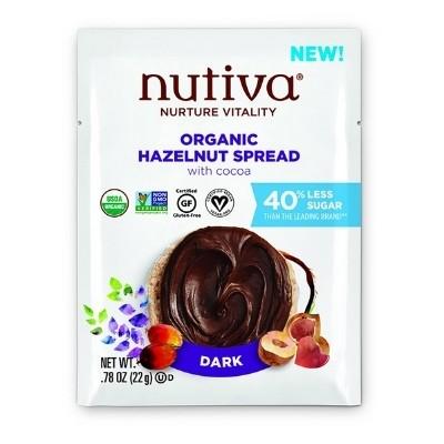 Nutiva chocolate hazelnut spread packet